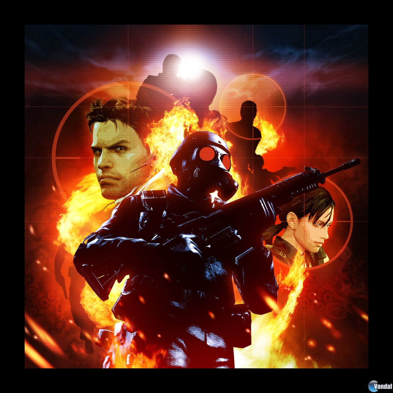 Resident Evil: The Mercenaries 3D Teaser Poster with 5 Character Silhouettes Revealed & Analysis
