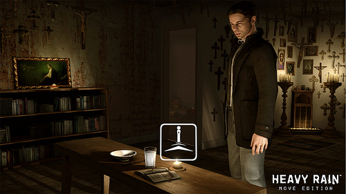 Heavy Rain now officially Playstation Move compatible