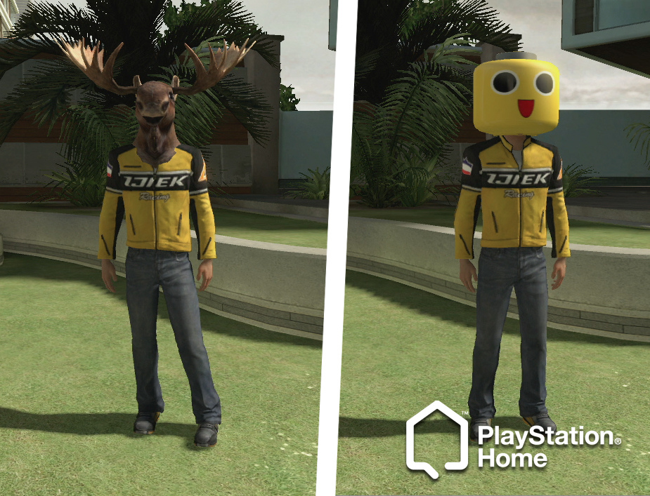 Dead Rising 2 costumes available for your PS Home avatars