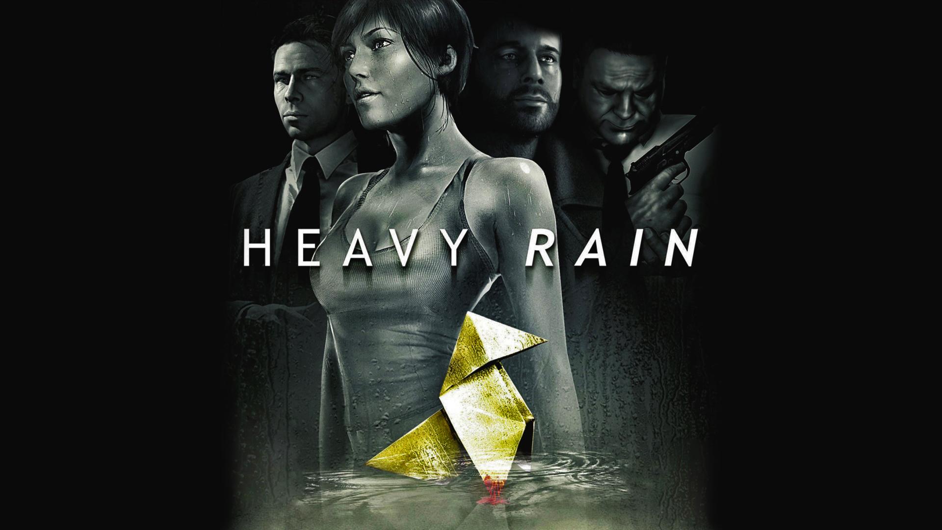 Heay Rain to pour down the big screen