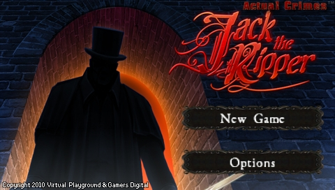 'Actual Crimes: Jack the Ripper' hits PSP minis