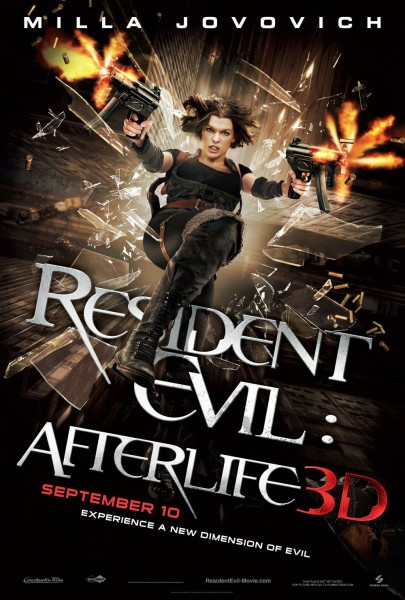 Resident Evil Afterlife and its 3D effects