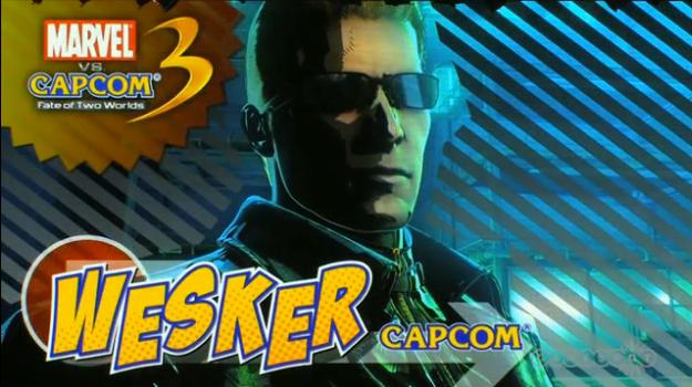 Wesker Revealed in Marvel Vs Capcom 3 (Trailer)