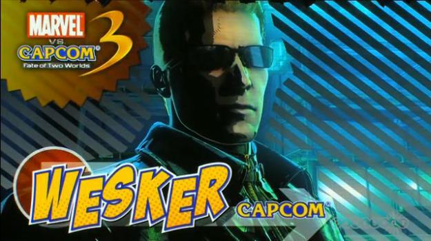 Wesker Revealed in Marvel Vs Capcom 3 (Trailer)