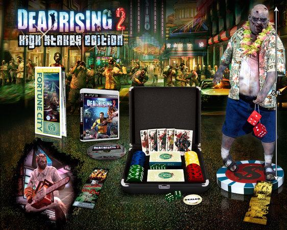 Dead Rising 2 High Stakes Edition unboxing