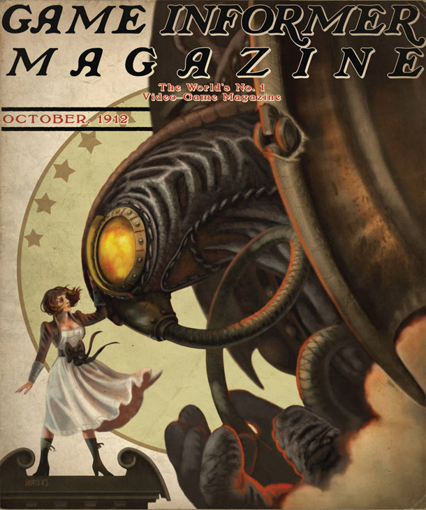 Bioshock Infinite will be featured in Game Informer's October issue