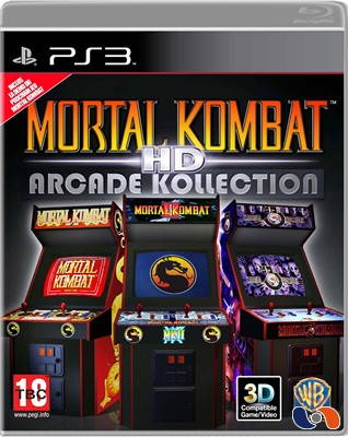 Mortal Kombat HD Arcade Kollection, 3D support confirmed