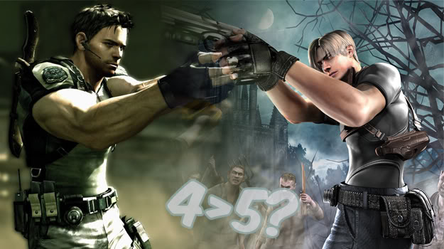DailyVania: Resident Evil 4 (Wii Edition) Vs. Resident Evil 5 (Move Edition)