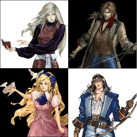 Castlevania: Harmony of Despair-New characters available