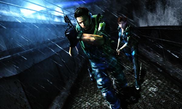 Crisp and Clear Resident Evil Revelations & Mercenaries 3D Screens and Concept Art