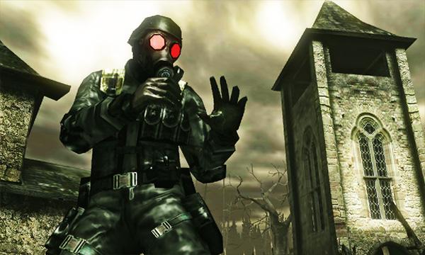 Resident Evil Revelations & Mercenaries 3D Site Translations
