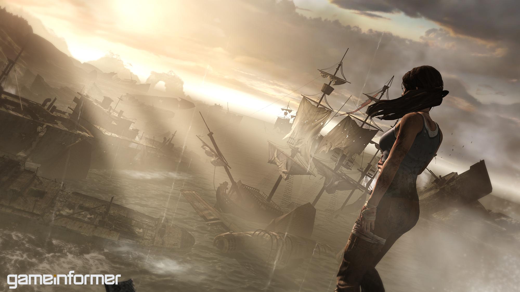 Game Informer releases Tomb Raider screens/art