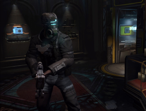 Isaac's many looks in Dead Space 2