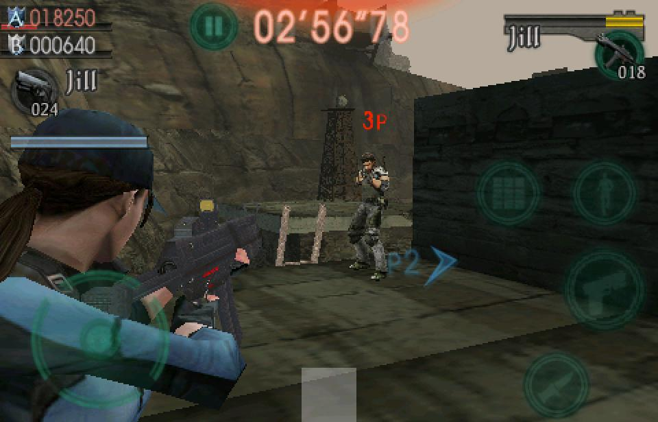 Resident Evil Mercenaries Vs. coming the iPhone/iPod Touch