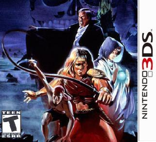 Castlevania 3DS: Dracula's Curse Chronicles? Yes, please