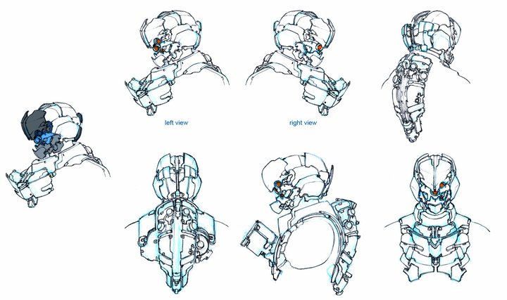 Dead Space 2 'Severed' concept art