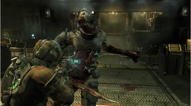 Your first look at Dead Space 2's first DLC, 'Severed'
