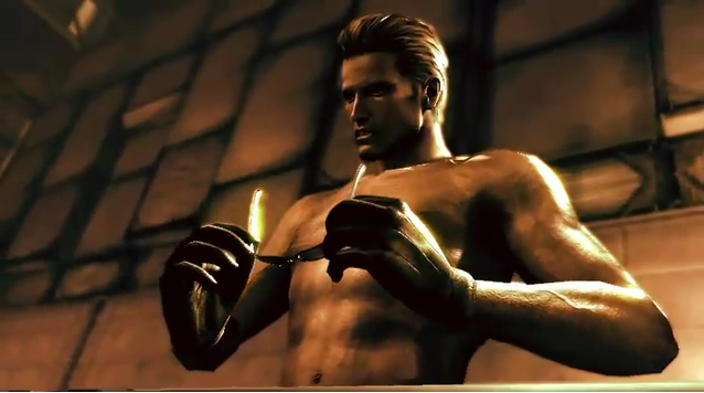 Albert Wesker's Old Spice commercial, yes you read that right