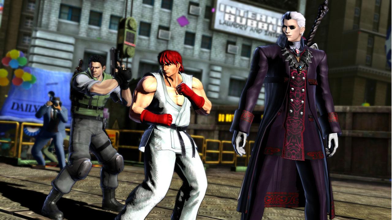Chris and Dante get fan-service attires in latest MvC3 DLC