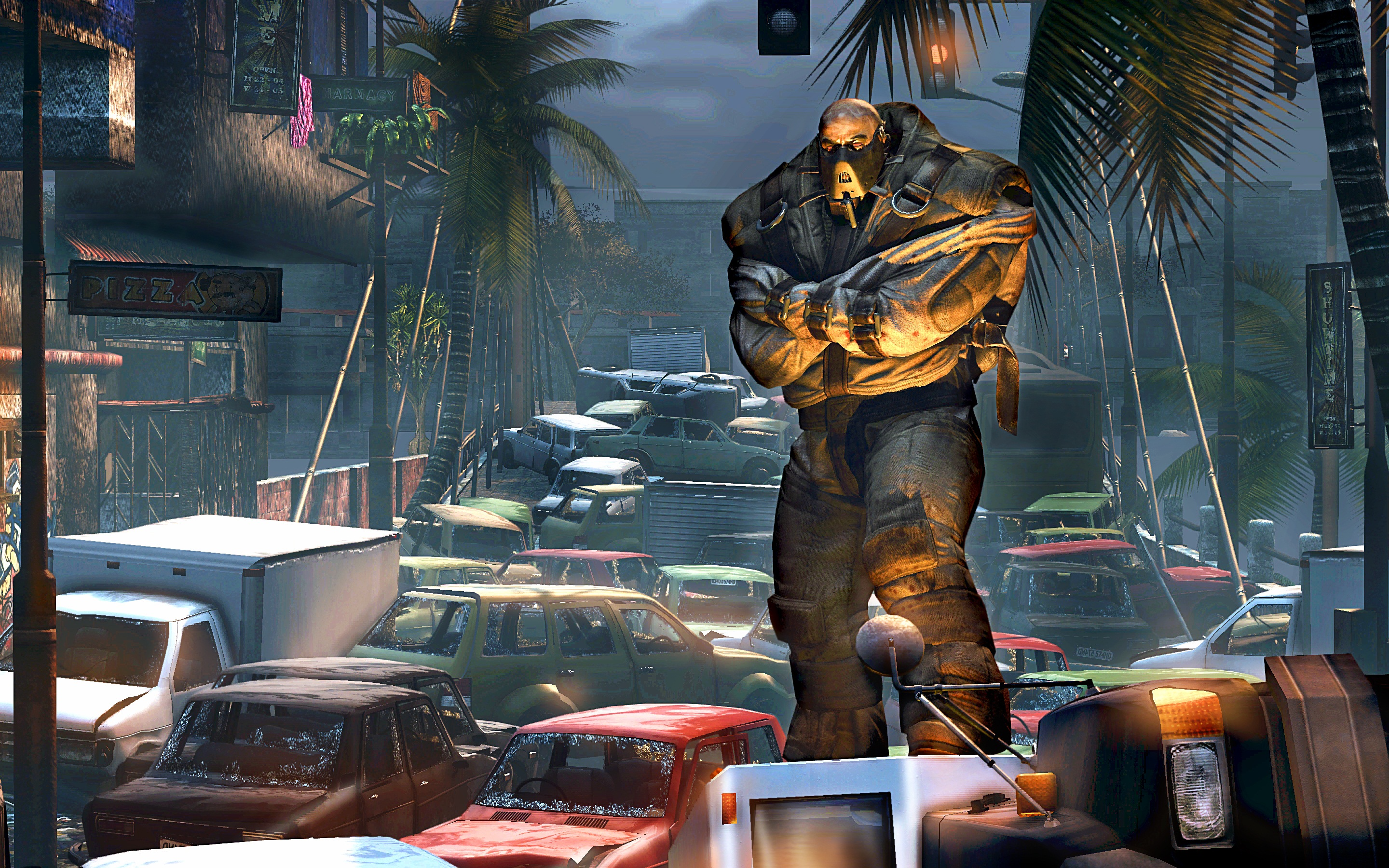 These new Dead Island screens bring brute force