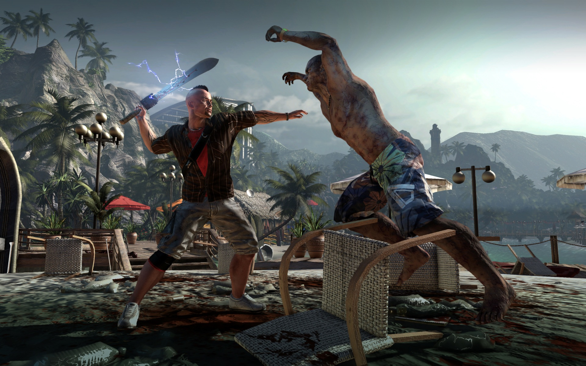 New Dead Island screens for your zombie-viewing pleasure