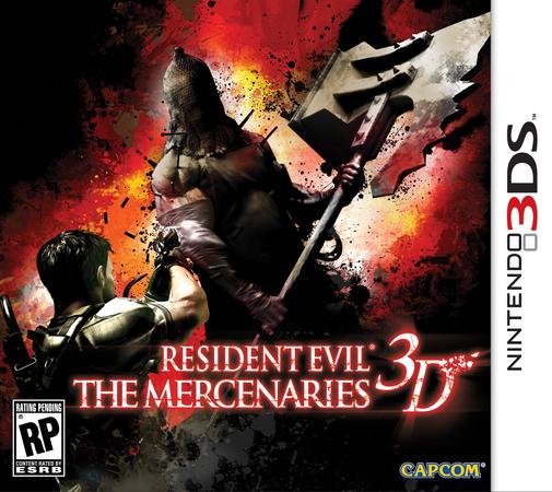 Resident Evil: The Mercenaries 3D box-art revealed