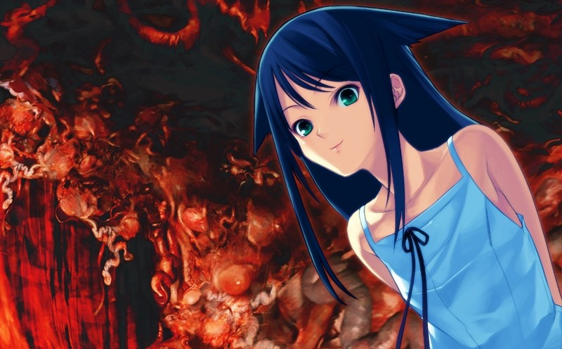 Saya no Uta protagonist stars in Nitroplus Blasterz' newest preview video