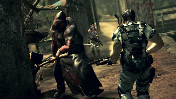 Resident Evil 5 Gets Price Cut On Games For Windows, Courtesy Of The Executioner