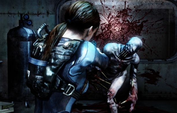 New Resident Evil: Revelations and Mercenaries 3D gameplay footage