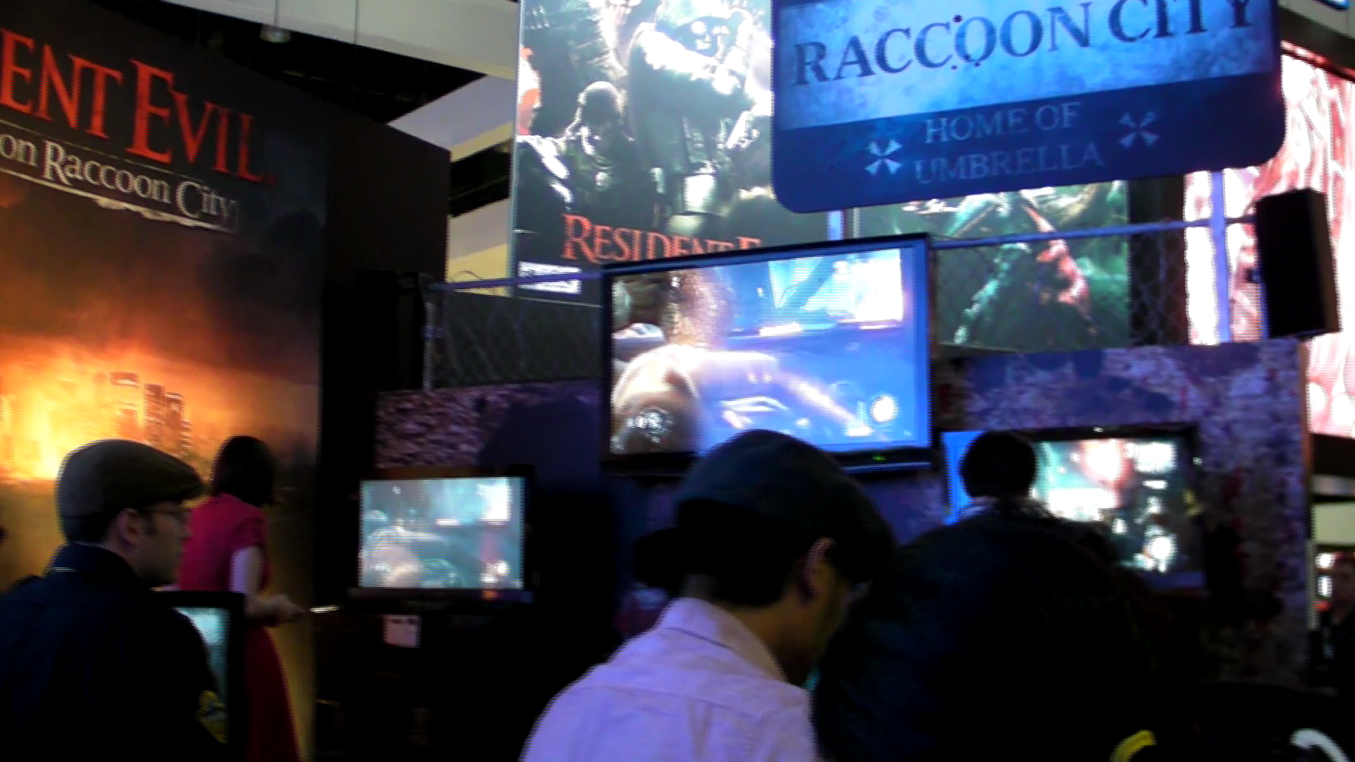Rely on Horror E3 2011: Resident Evil: Operation Raccoon City Multiplayer Gameplay (Cam Recorded)