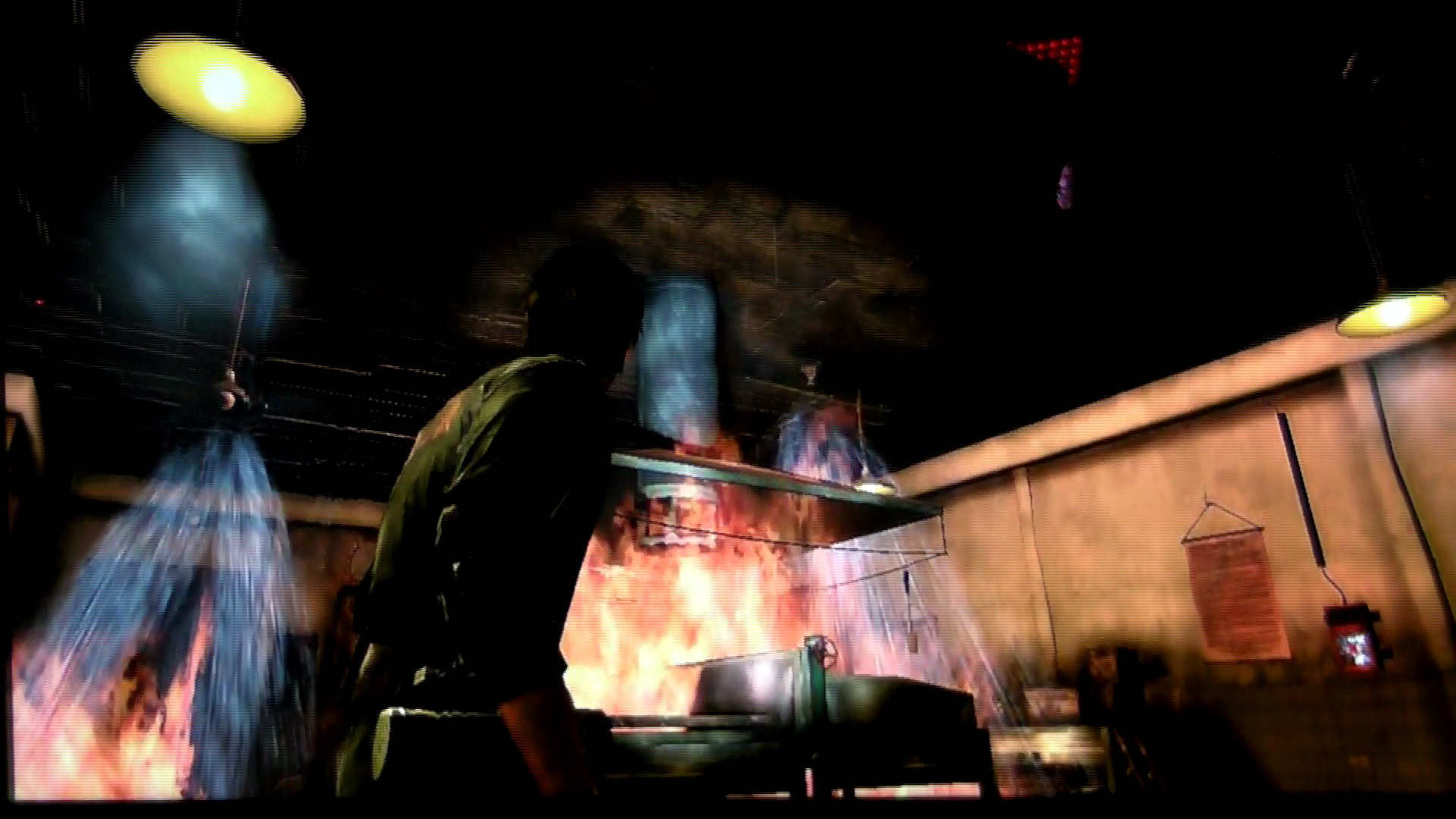 "Rely on Horror E3 2011- Silent Hill: Downpour ""Restaurant Nightmare"" Gameplay (Cam Recorded)"