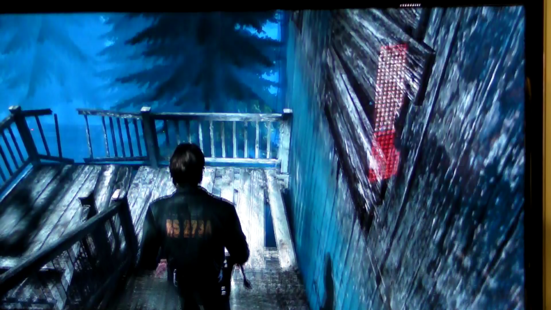 """Rely on Horror E3 2011- Silent Hill: Downpour """"Town Exploration"""" Gameplay (Cam Recorded)"""