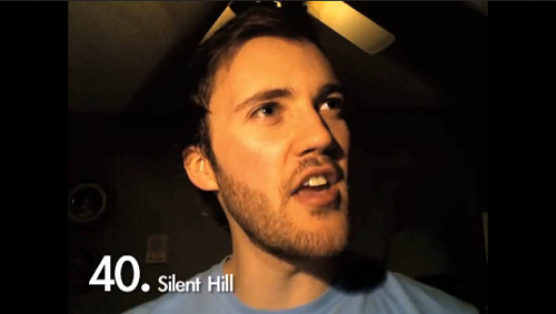 Watch this guy reenact horror game quotes (among others)