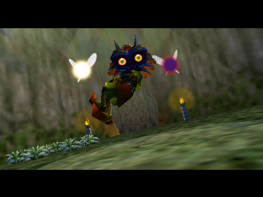 Honorable Mention in Horror – The Legend of Zelda: Majora's Mask