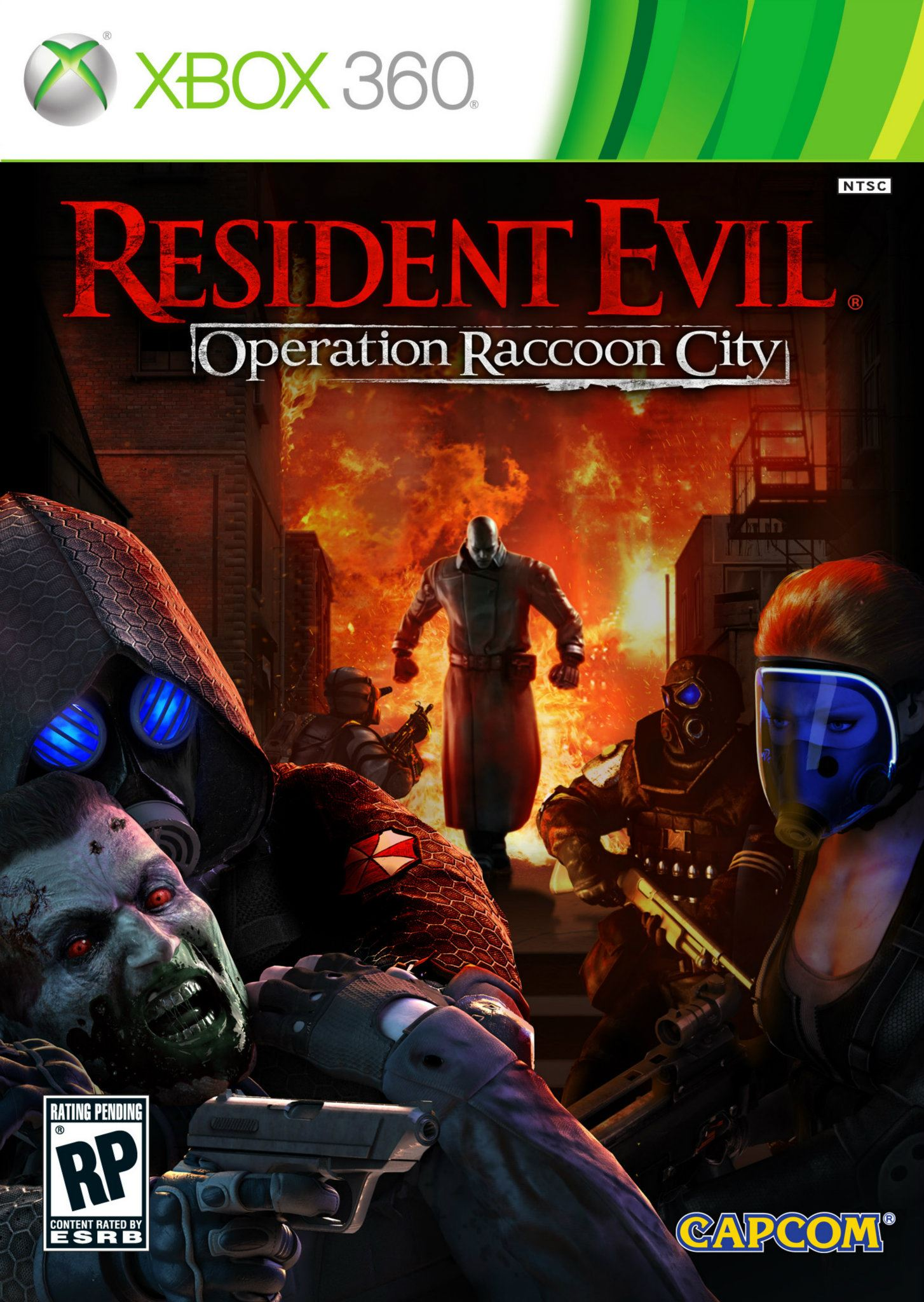 Check Out Resident Evil Operation Raccoon City S Cover Art