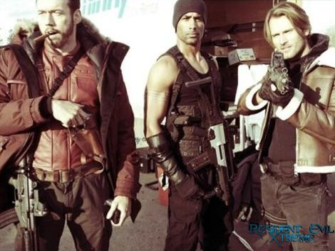 Barry is the STAR of these new set pics from Resident Evil: Retribution
