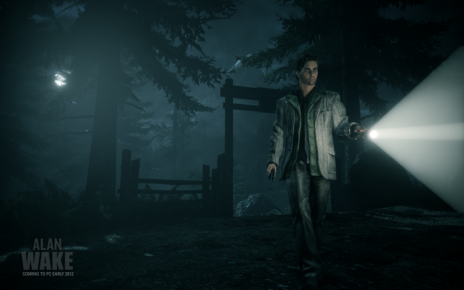 Alan Wake officially coming to PC