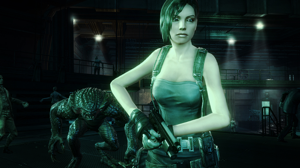 Classic Resident Evil characters are front and center in new Operation Raccoon City screens