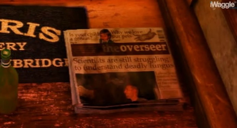 The Last of Us referenced in Uncharted 3?