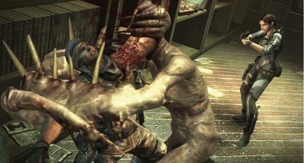 Almost an hour of Resident Evil Revelations raid mode footage