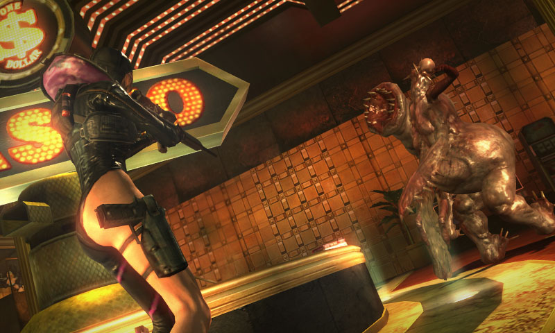 New Resident Evil Revelations screens emerge from the depths of the inferno