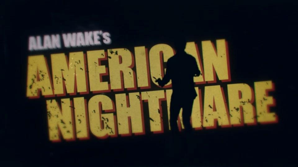 Alan Wake's American Nightmare trailer analysis