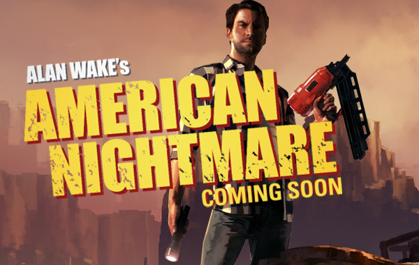 Alan Wake's American Nightmare set to be released next month