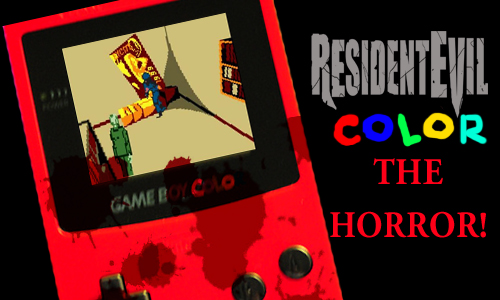 Get the original Resident Evil on your GameBoy!…for 2,000 dollars