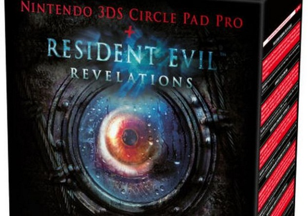 Check out Resident Evil Revelation's Circle Pad Pro ad (European)