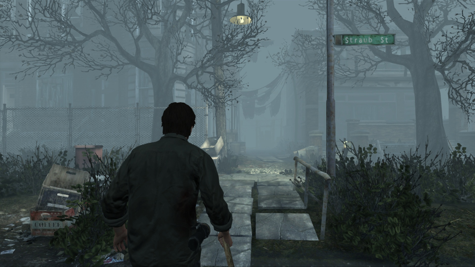 New Silent Hill Downpour screens drizzle out