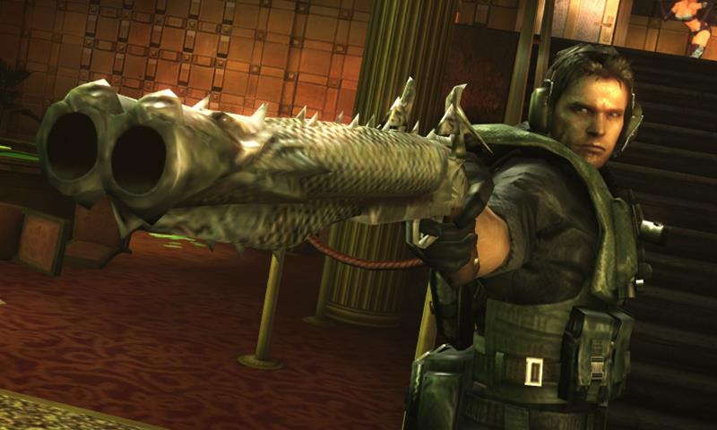 New Resident Evil Revelations screens emerge from the watery depths