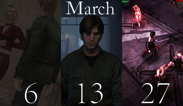 Upcoming Silent Hill games re-dated