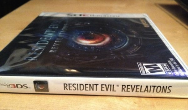 Resident Evil Revelations' box art has a bizzar typo