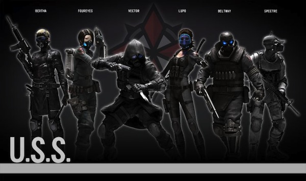 USS Wolfpack abilities revealed for characters within Operation Raccoon City